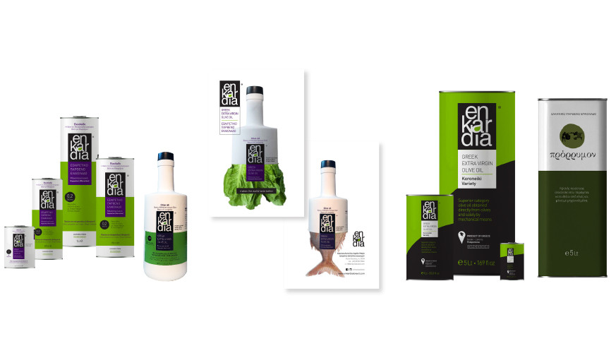 enKardia olive oil products