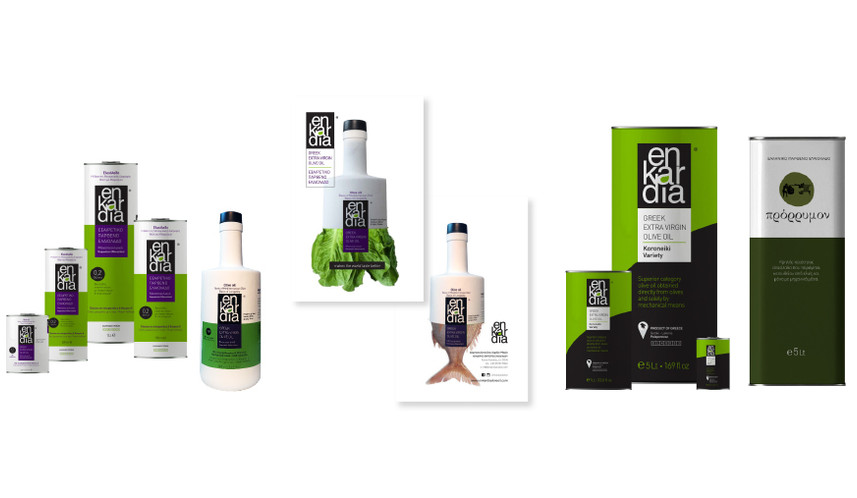 enKardia olive oil products