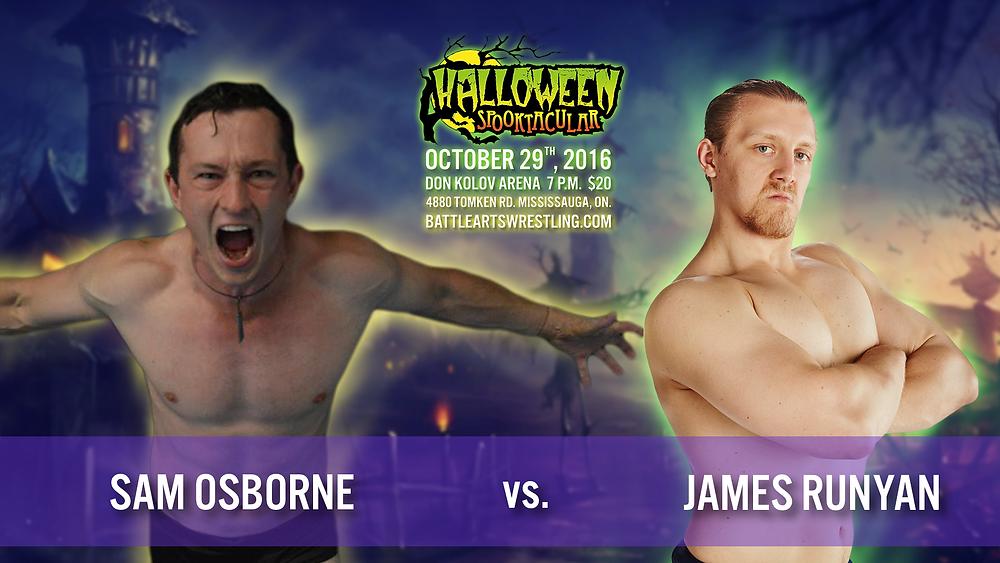 Sam Osborne vs. James Runyan