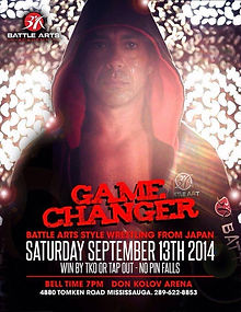 George Terzis Gamechanger September 2014 Battle Arts
