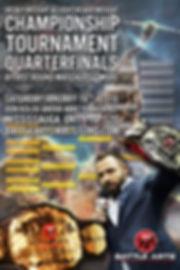 Battle Arts Professional Wrestling Heavyweight & Light Heavyweight Championship Tournament Quarterfinals January 16, 2016