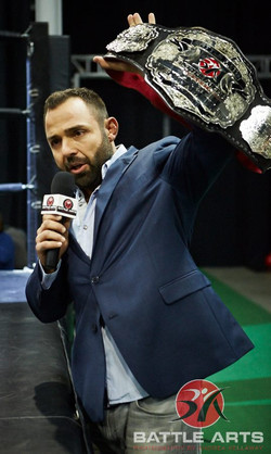 04 ANTHONY CARELLI SHOWS OFF THE LIGHT HEAVYWEIGHT CHAMPIONSHIP