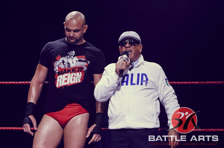 Di Papa and his idea of a champion, Randy Reign.