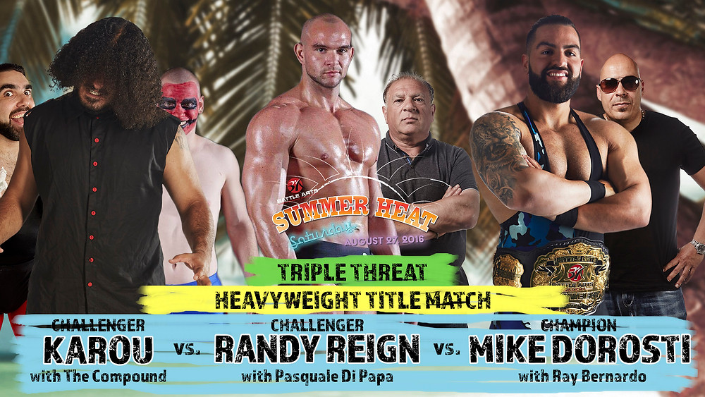 Triple Threat Match for the Heavyweight Championship