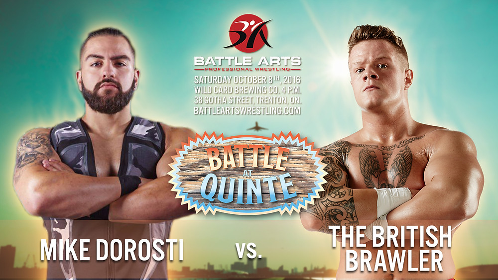 Mike Dorosti vs. The British Brawler