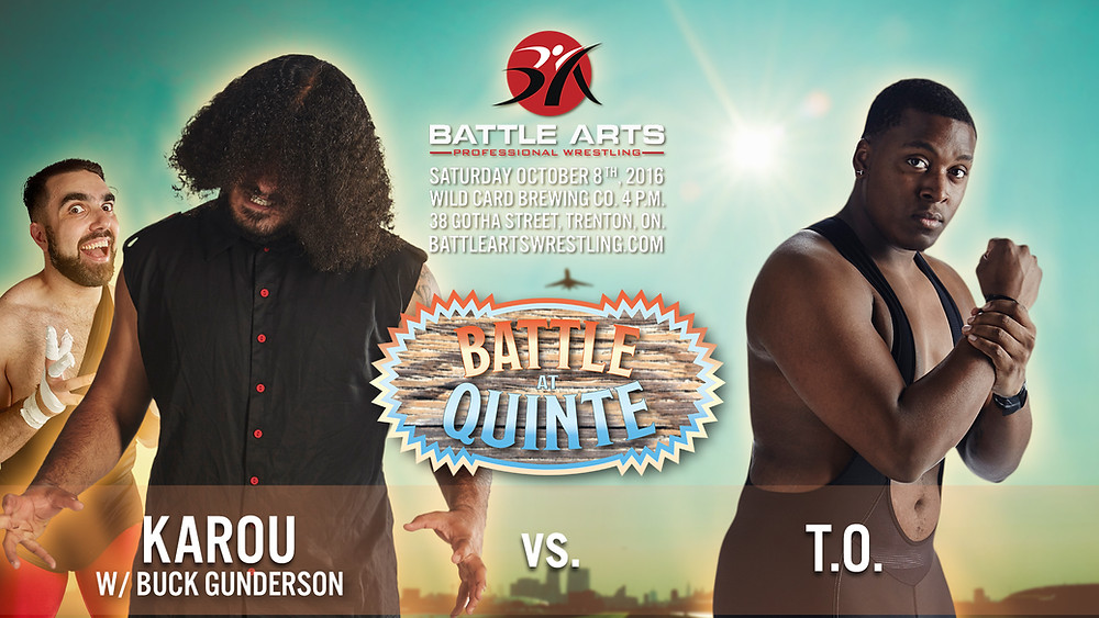 Karou w/ Buck Gunderson vs. T.O.