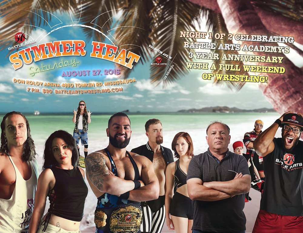 All instances of Anthony Carelli on promotional materials for Summer Heat have been replaced.