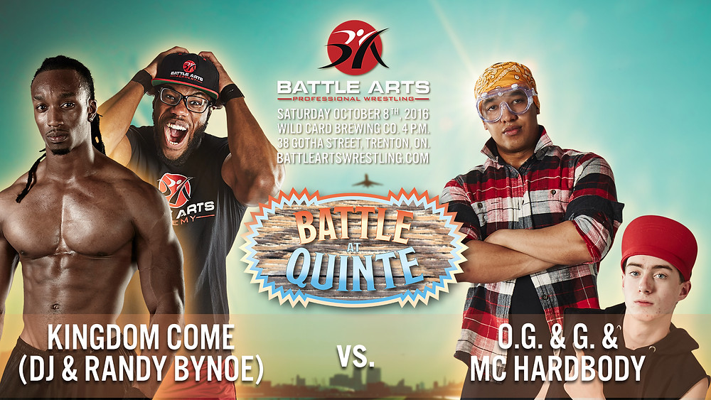 Kingdom Come vs. O.G. & G. & MC Hardbody