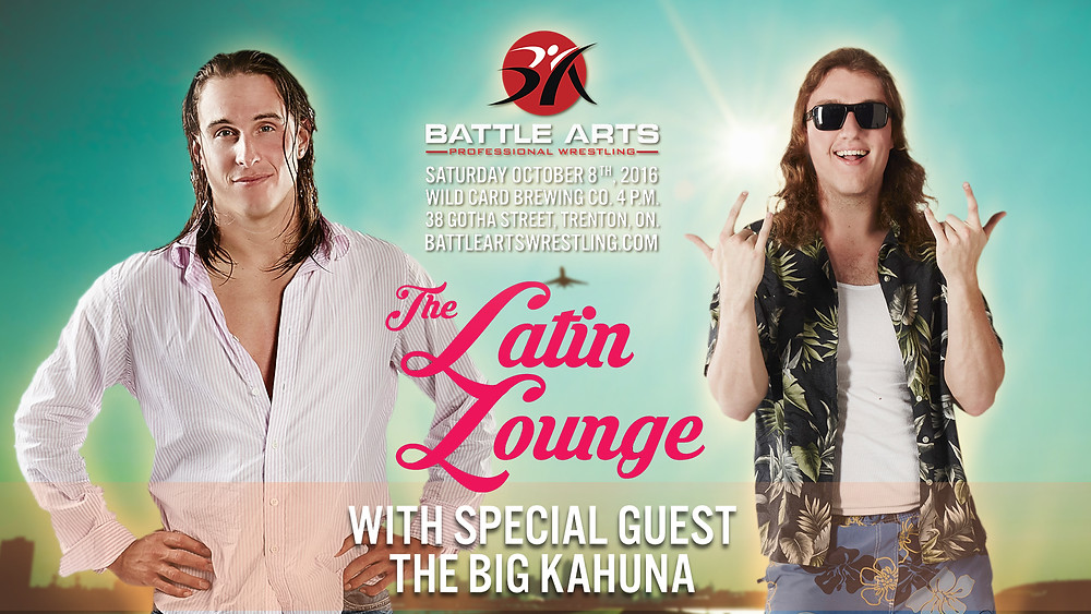 The Latin Lounge with The Big Kahuna.