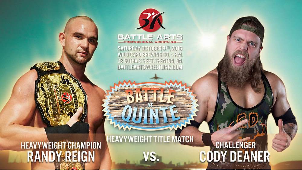 Randy Reign vs. Cody Deaner
