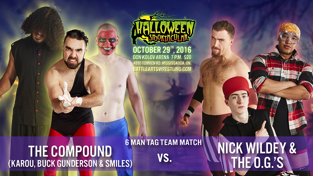 The Compound vs. Nick Wildey & The O.G.'s
