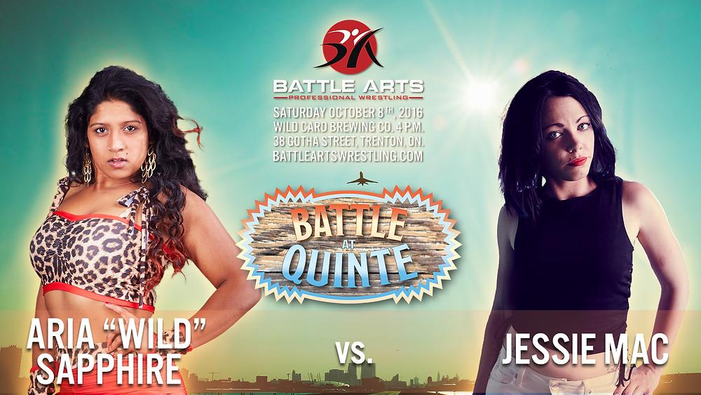 Aria Sapphire vs. Jessie Mac