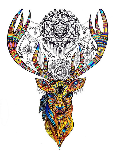 Dream Catcher Deer