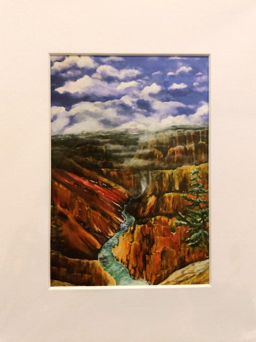 Yellowstone River - Giclee Print