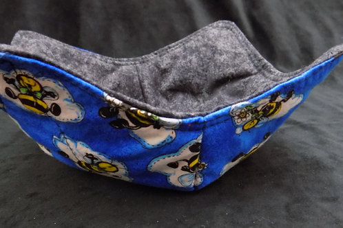 Microwave Bowl Cozy: Bees