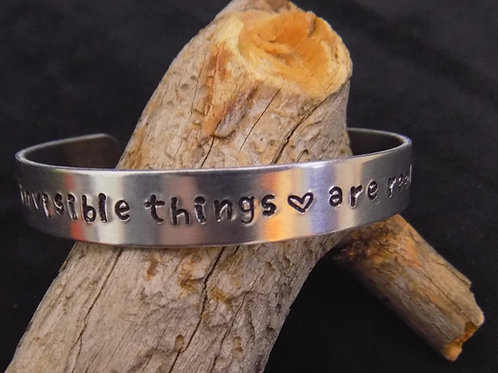 Aluminum Bracelet: Invisible Things are Real Too