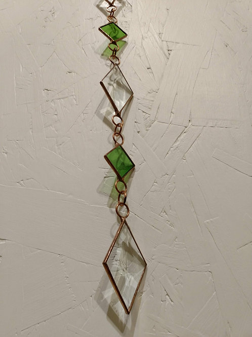 Diamond Stained Glass Sun Catcher