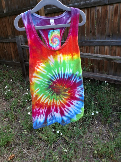 Tie-Dye Tank Top - X-Small