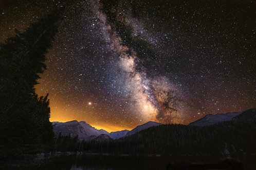 Milkyway at Bear Lake