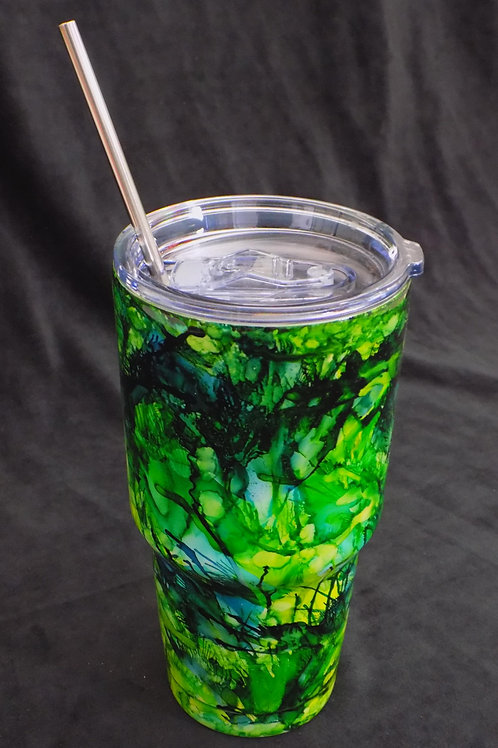 Stainless Steel Resin Painted Tumbler