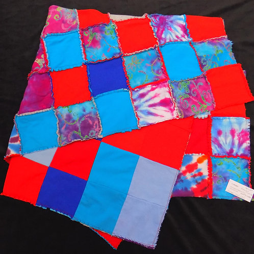 Upcycled Tie-Dye Quilt