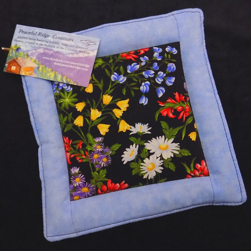 Wild Flowers Pot Holder