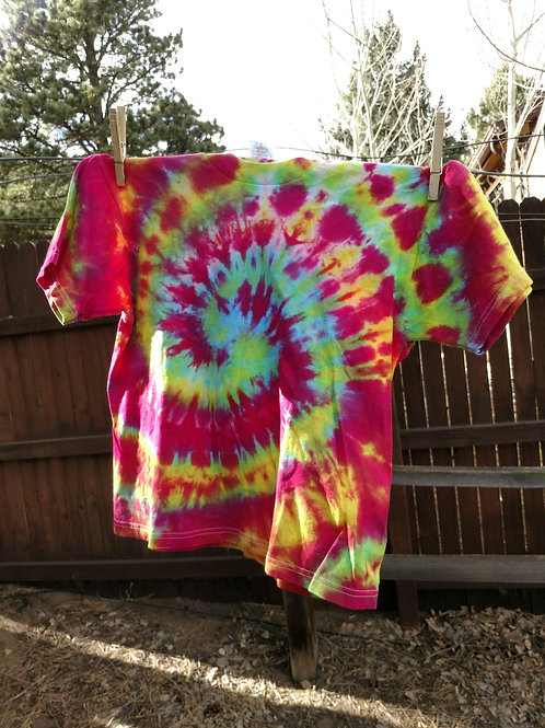Tie-Dye Youth T-Shirt - S