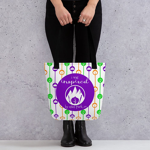 Inspired By Estes Park Tote bag