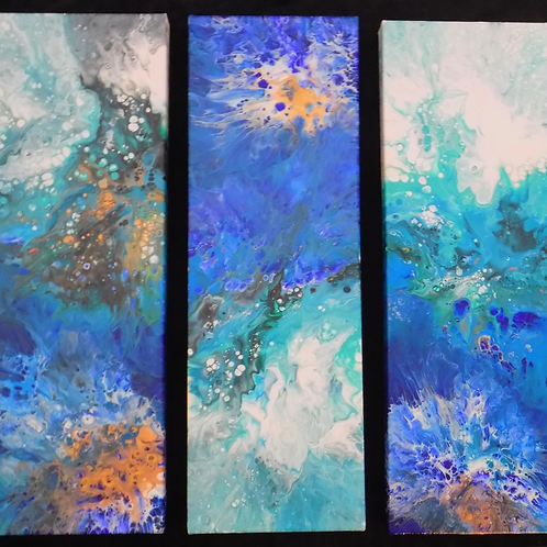 Dive in - 3 Panel Series