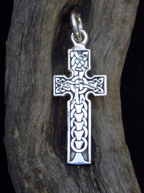 Ring Knot Cross Pendant