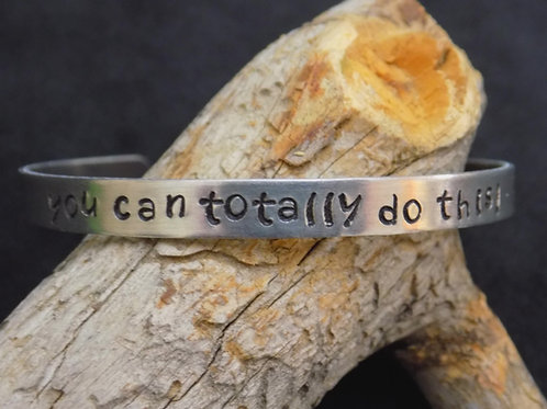 Aluminum Bracelet: You can totally do this!