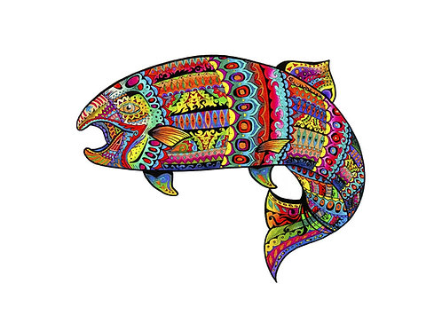 Psychedelic Trout