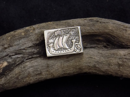 Merchant Ship Silver Bead