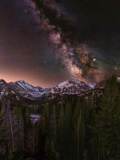 Milkyway at Rocky Mountain National Park