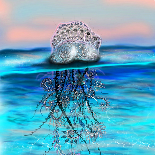 Psychedelic Jelly Fish