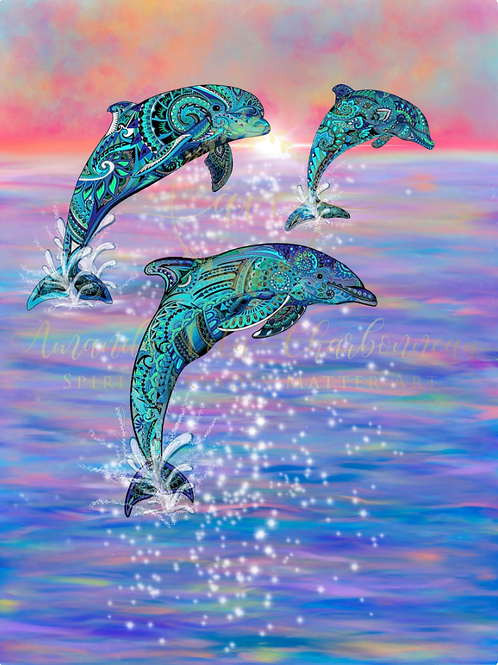 Psychedelic Dolphins