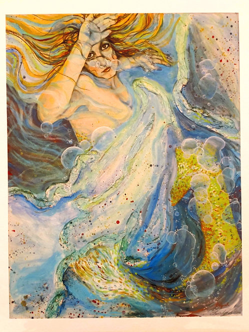 Mermaid - Giclee Print