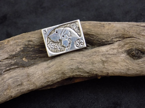 Wolf Hounds Silver Bead