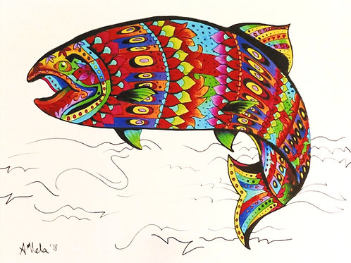 Psychedelic Salmon