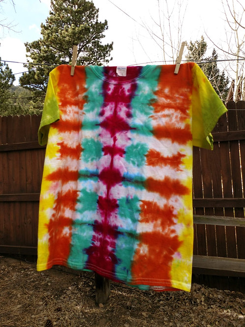 Tie-Dye Youth T-Shirt - L