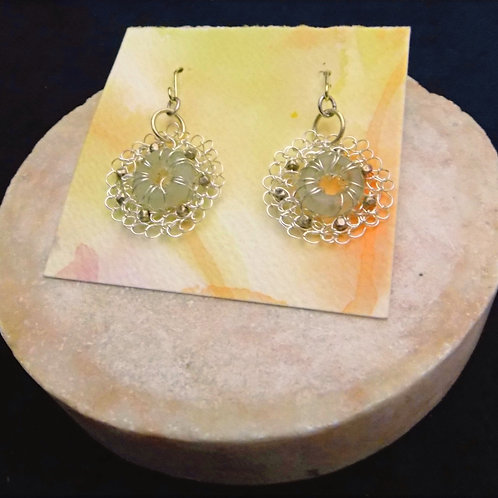 Handmade Silver Filigree Earrings