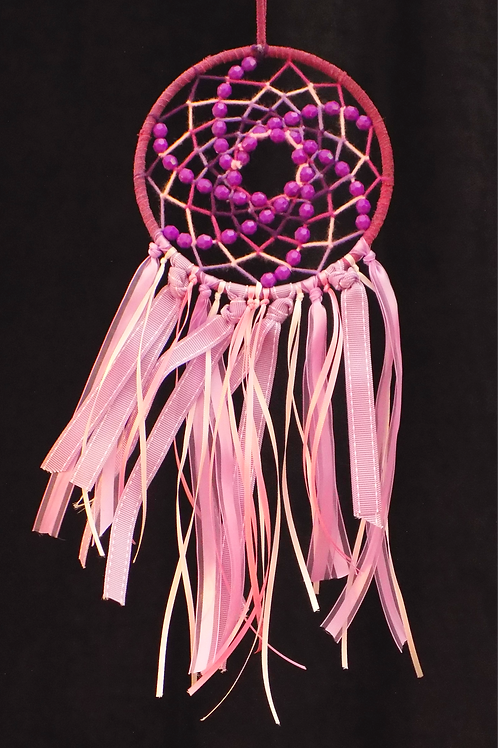 """5"""" Lilac Dreamcatcher with Ribbons"""
