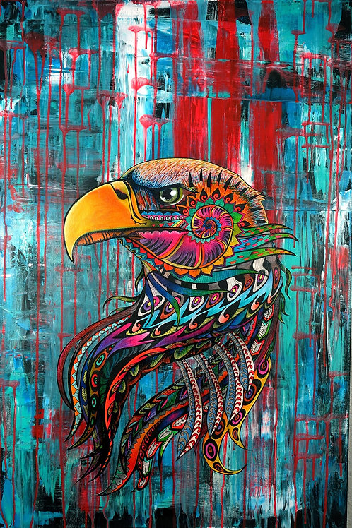 Psychedelic Eagle
