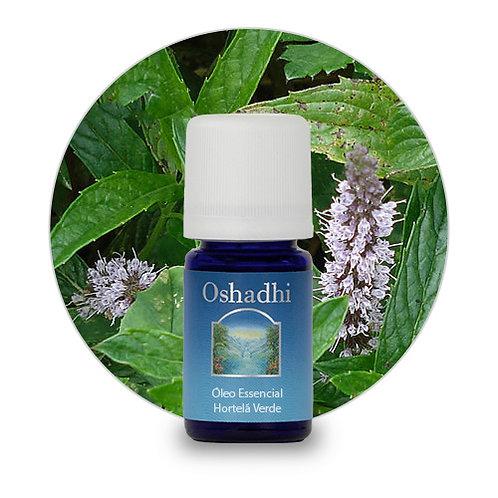 oleo essencial Hortelã Verde 5ml oshadhi