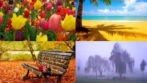Deveríamos ser como a natureza e suas estações