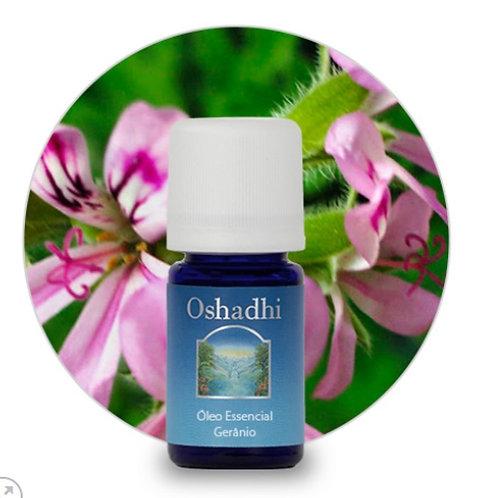 oleo essencial Gerânio Rosa 5ml Oshadhi
