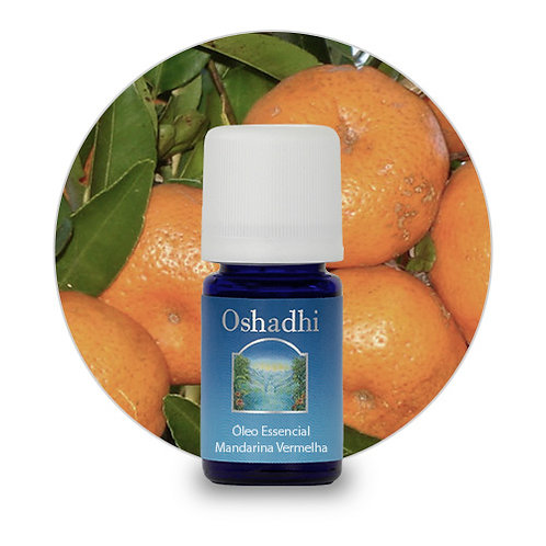 oleo essencial Mandarina Vermelha 5 ml oshadhi