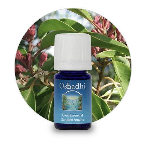 oleo essencial Sândalo Amyris 5 ml oshadhi