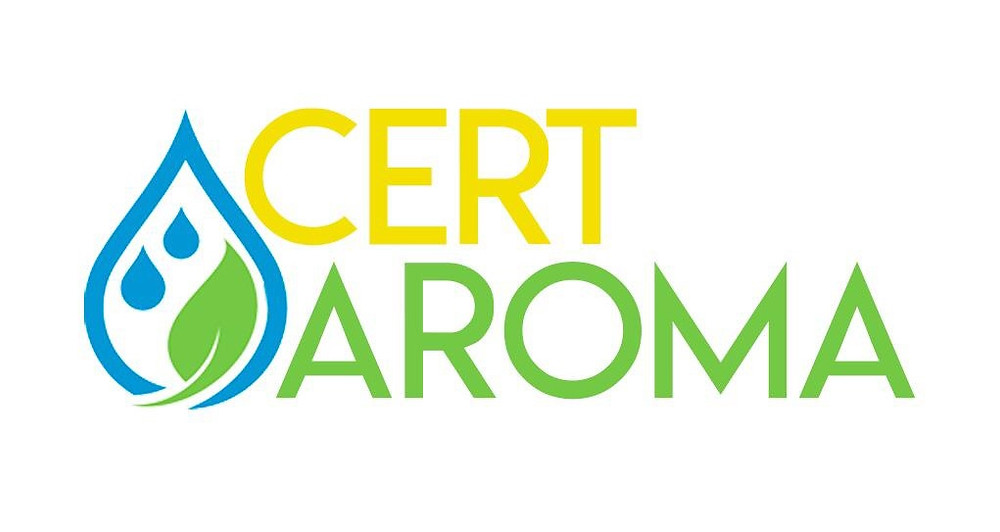 Logo Cert Aroma - Certificação em Aromaterapia