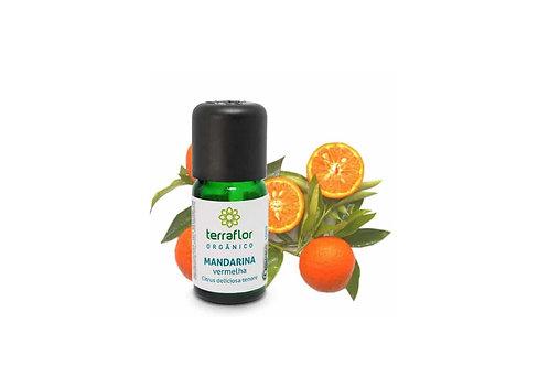Óleo Essencial Mandarina vermelha orgânica 10ml